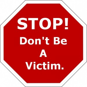 Stop!  Don't Be A Victim.