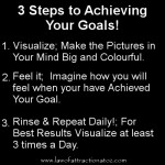 How to Visualize Your Goals in 3 Simple Steps.