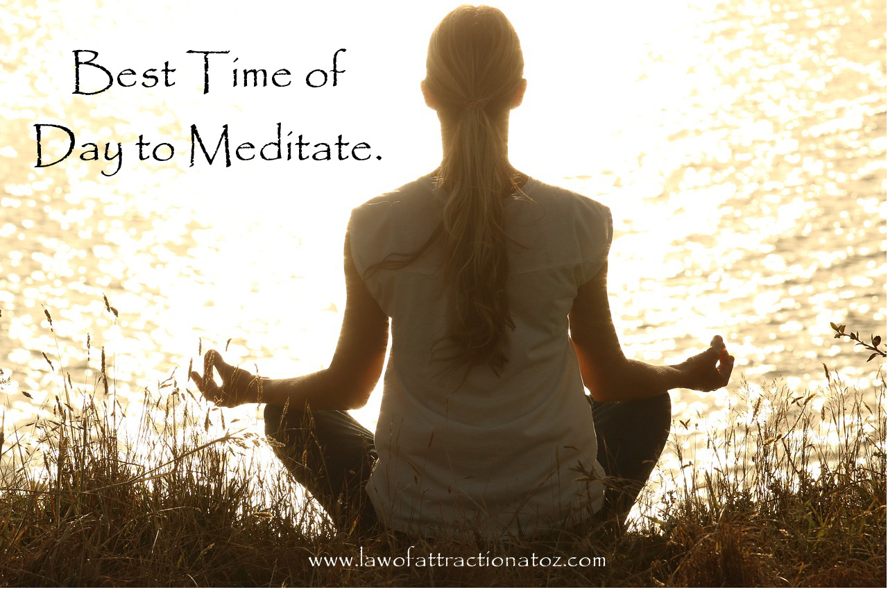 Best Time of Day to Meditate